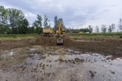 02 - Detalle de la excavación del humedal