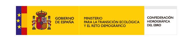 Logo Ministerio de Transición Ecológica - Confederación Hidrográfica del Ebro