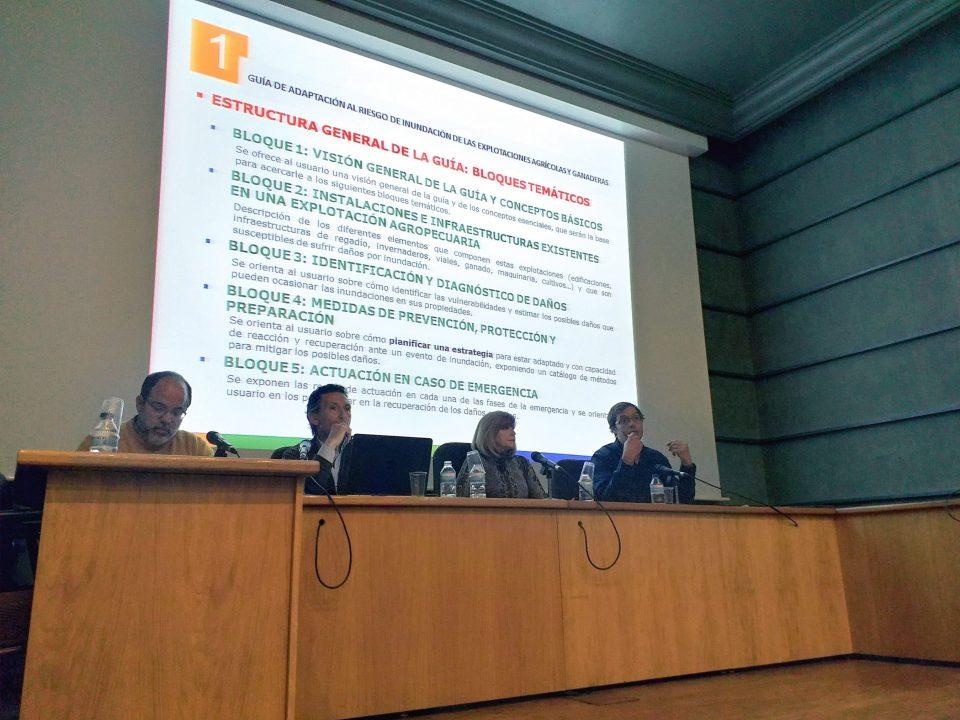 Presentación proyecto piloto adaptación a la inundación explotaciones agrícolas y ganaderas