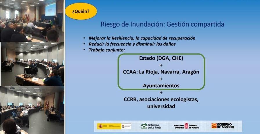 Estrategia Ebro Resilience: trabajando para reducir el riesgo de inundación en el tramo medio