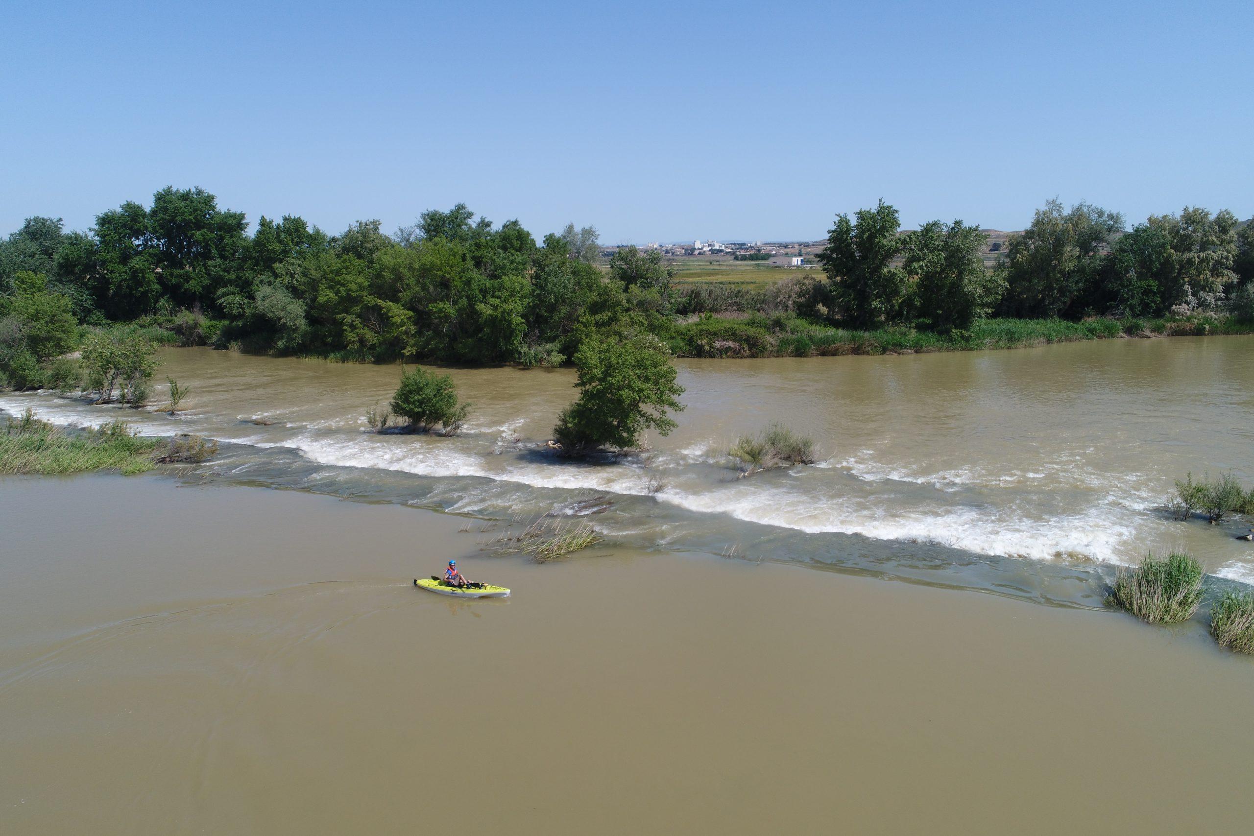 Los estudios de tramos con mayor riesgo del Ebro medio se amplían de 13 a 15