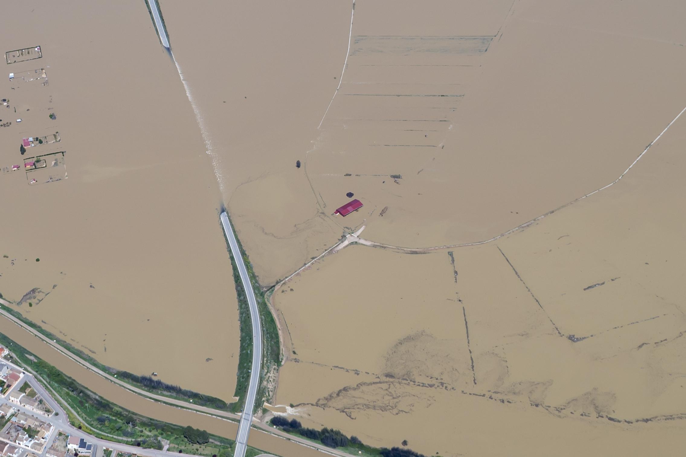 Acción pionera: las explotaciones agrarias y ganaderas evalúan su riesgo de inundación