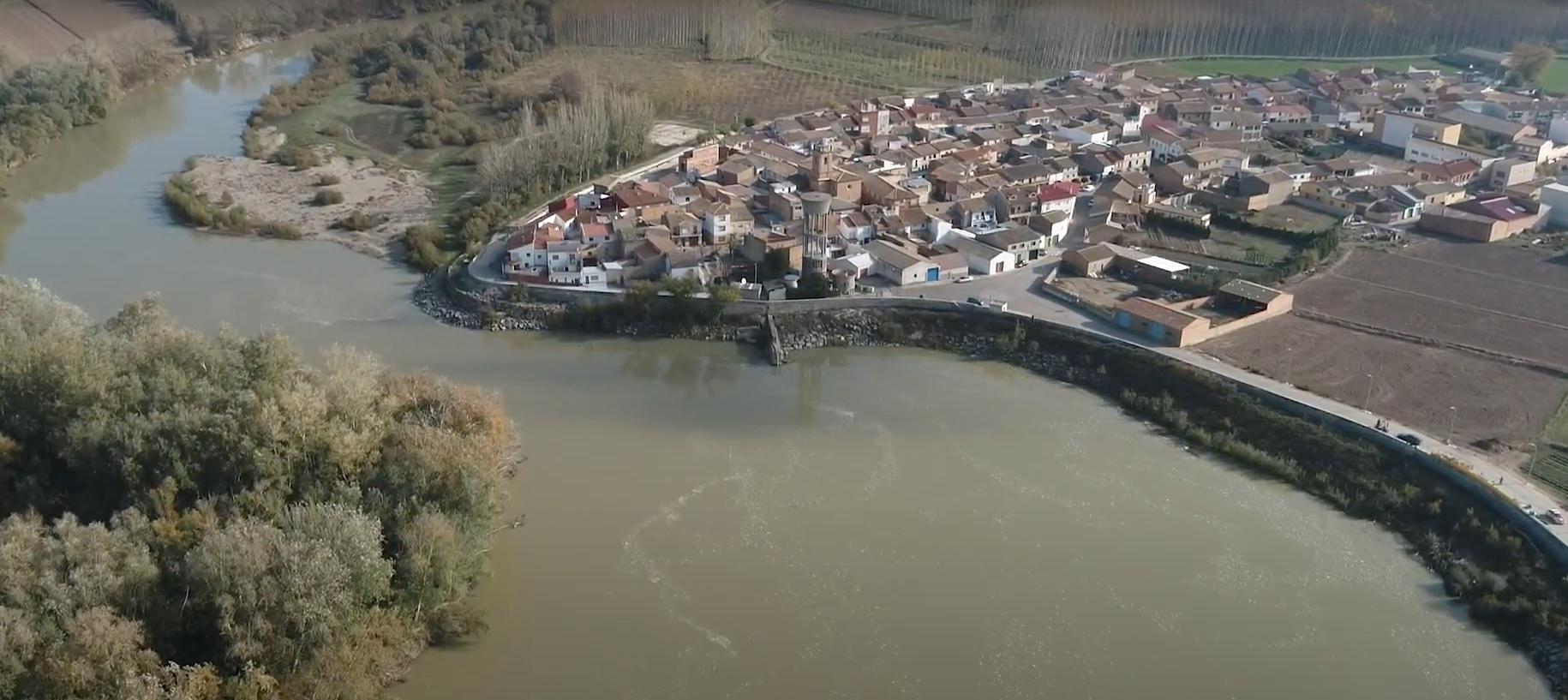 Presentado el estudio en detalle del Tramo 8 Ebro en Cabañas de Ebro (Zaragoza)
