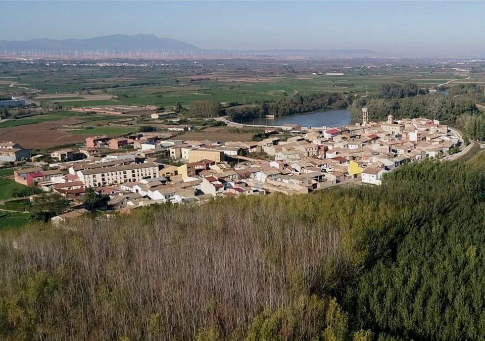 Cabañas de Ebro_vista oeste