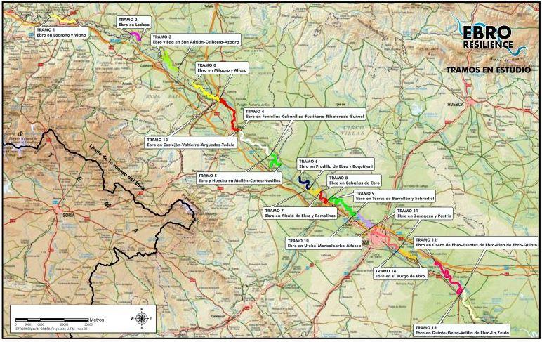 Estudios de detalle en el marco de la Estrategia Ebro Resilience