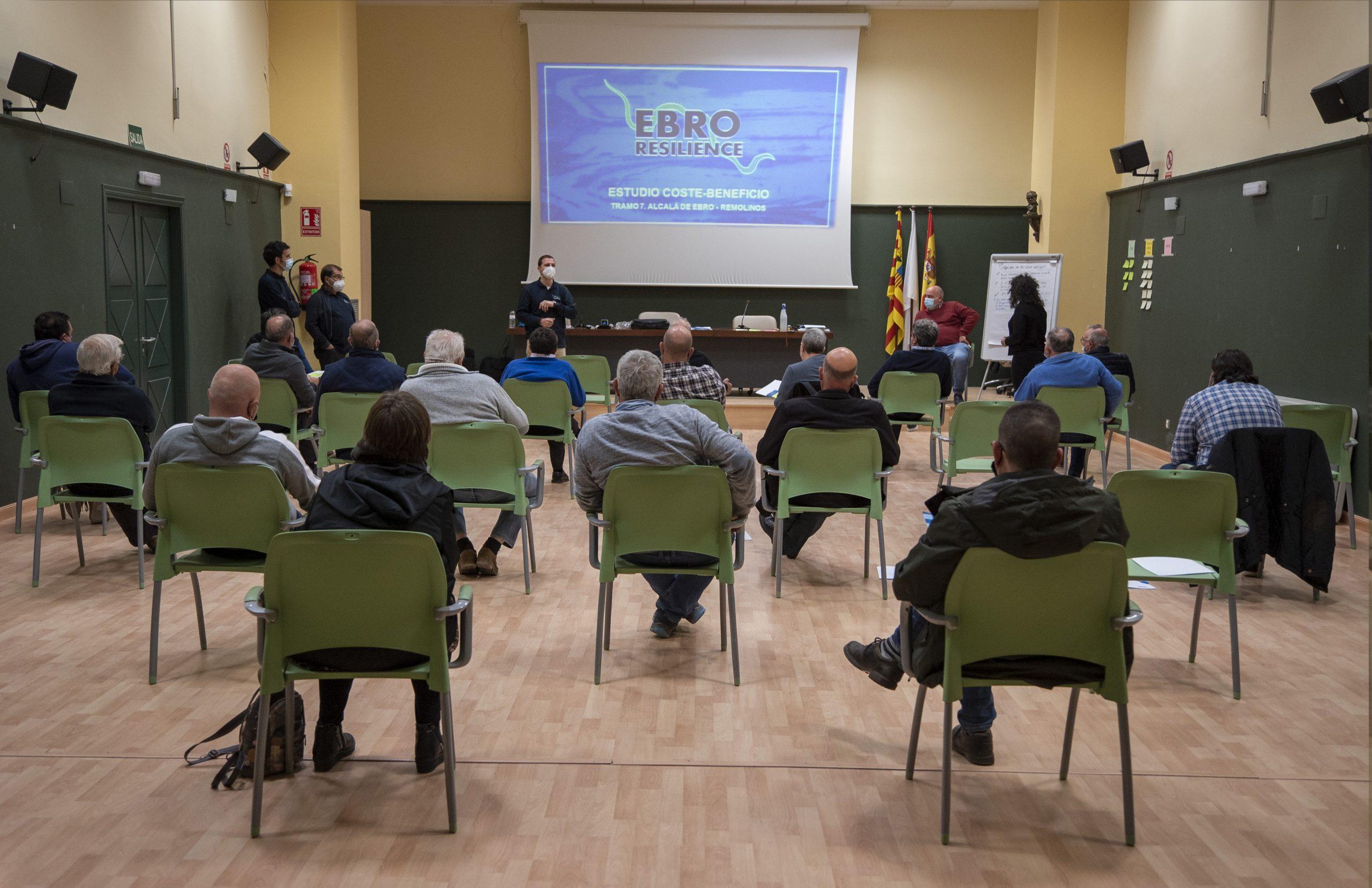 Ebro Resilience retoma los talleres presenciales con el dedicado al tramo Alcalá de Ebro-Remolinos